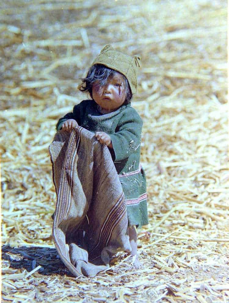 Poverty in Peru | Indigenous child