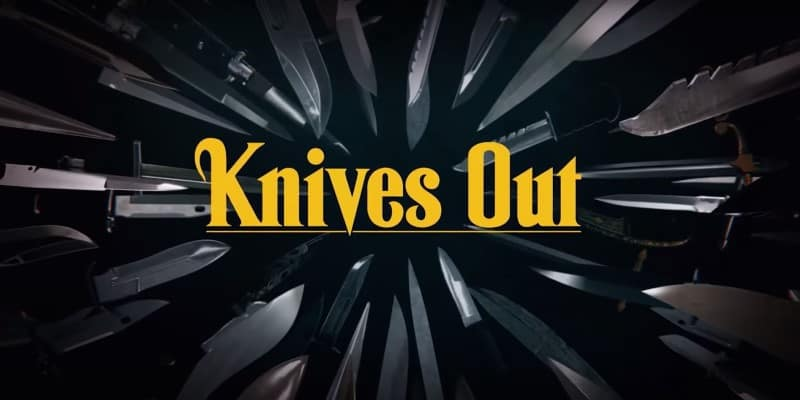 Knives Out Title