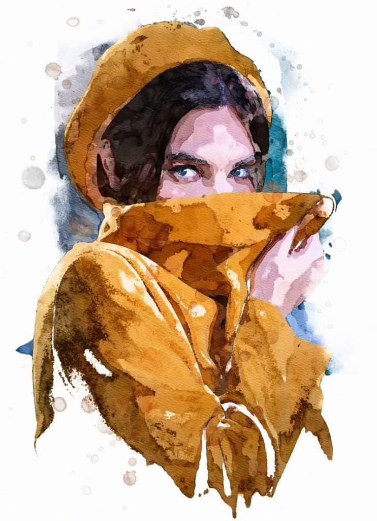 Art print - watercolor