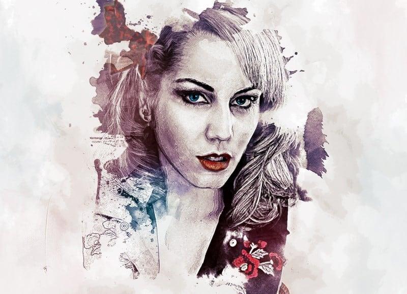 Art print - woman