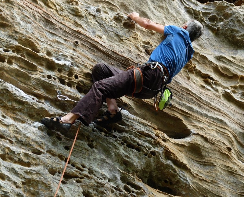 Red River Gorge - Rock Climbing
