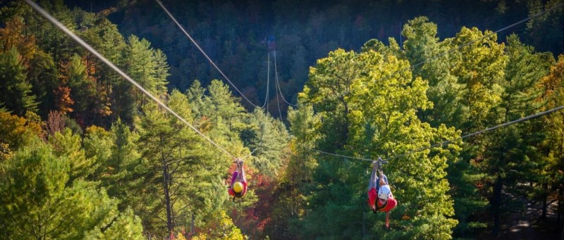 Red River Gorge - Ziplining