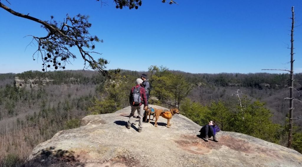 Red River Gorge on top