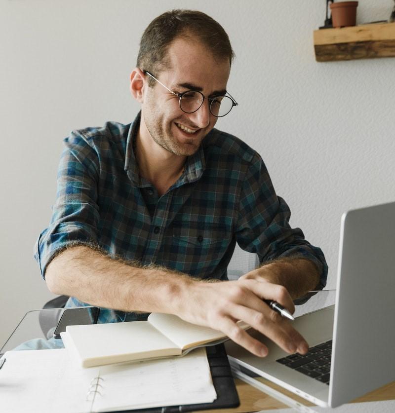 Online Tutor smiling