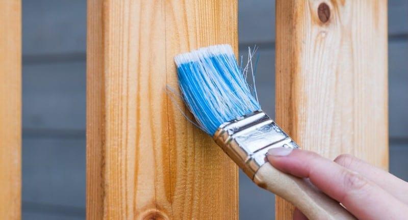 Wood fence mainenance