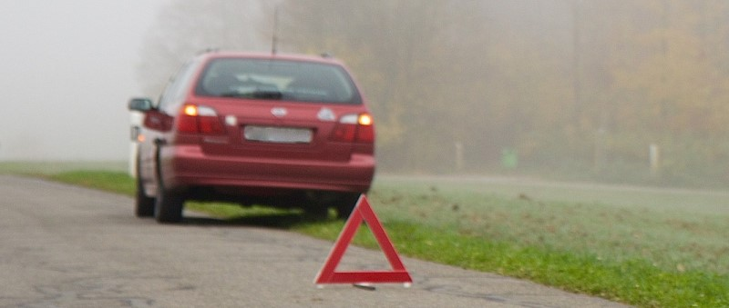 Breakdown - warning triangle
