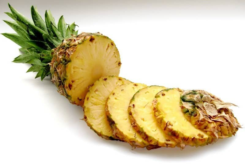 Pineapple - used for weight loss