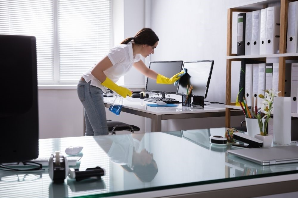 Cleaning and disinfection - office